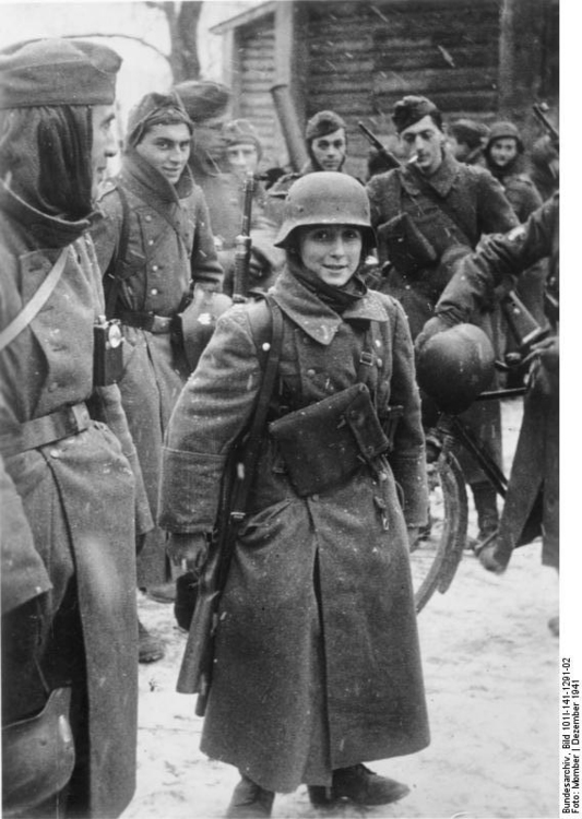 Photo Russia - 15 yr old soldire with French legions