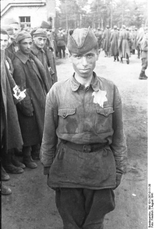 Photo Russia - Jewish soldier as prisoner of war