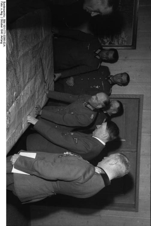 Russia - meeting with Hitler