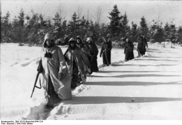 Photo Russia - Soldiers in snow
