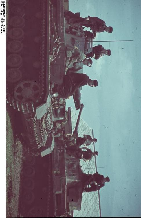 Russia - Soldiers with tanks IV