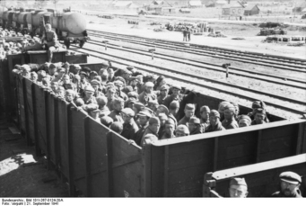 Photo Russia - Transport prisoners of war