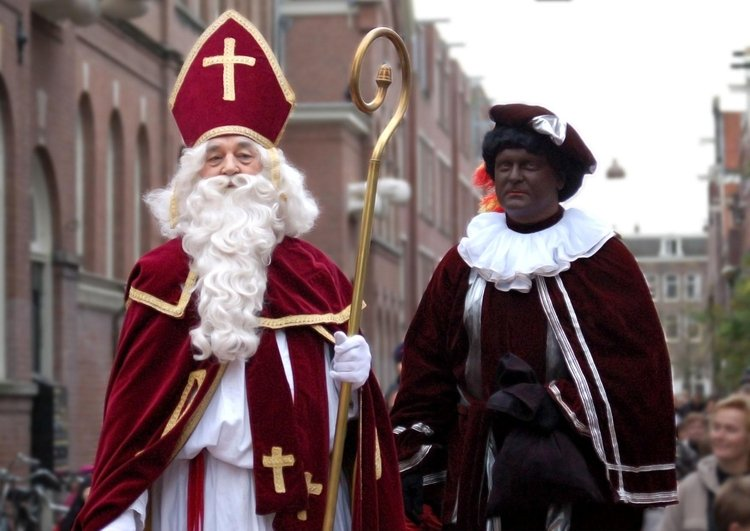 Photo Saint Nicholas and Black Peter