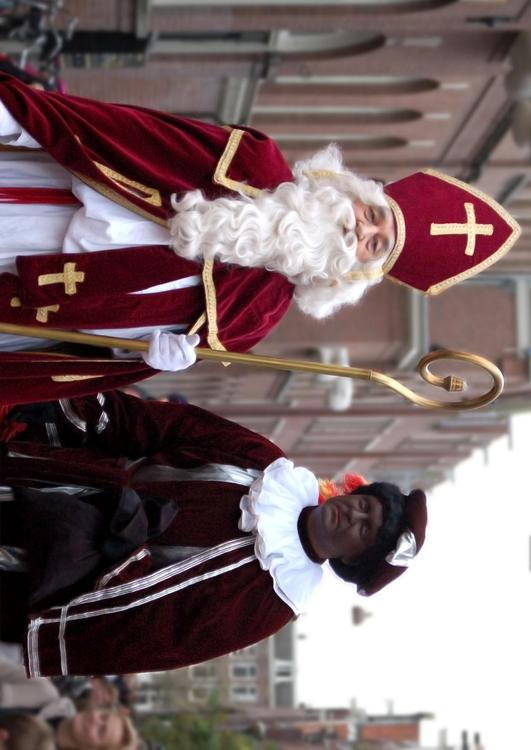 Saint Nicholas and Black Peter