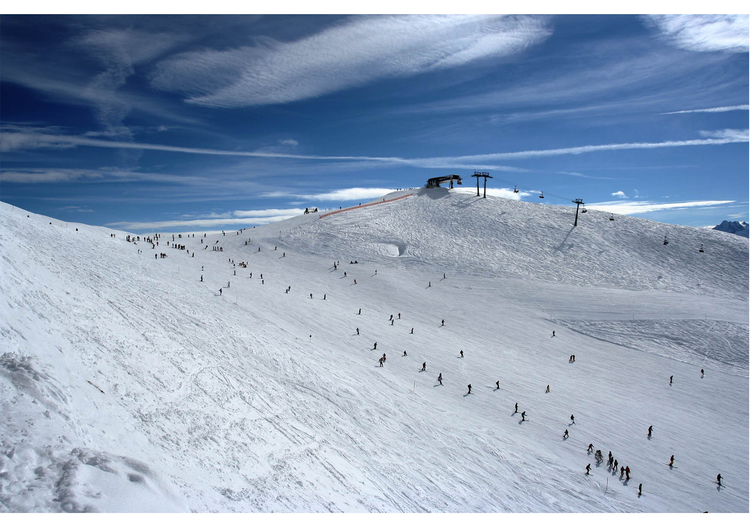 Photo ski slope