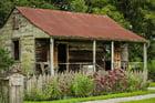 Photo slave hut