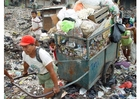 Photo slums in Jakarta, Indonesia