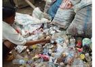 Photo slums in Jakarta