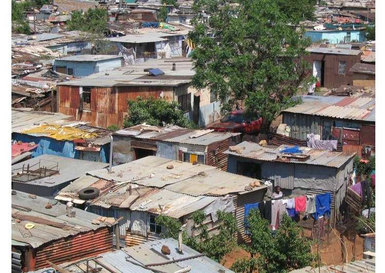 Photo slums in Soweto