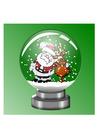Photos snow globe