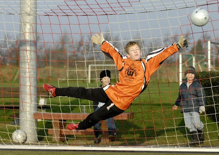 Photo soccer - (goal)keeper