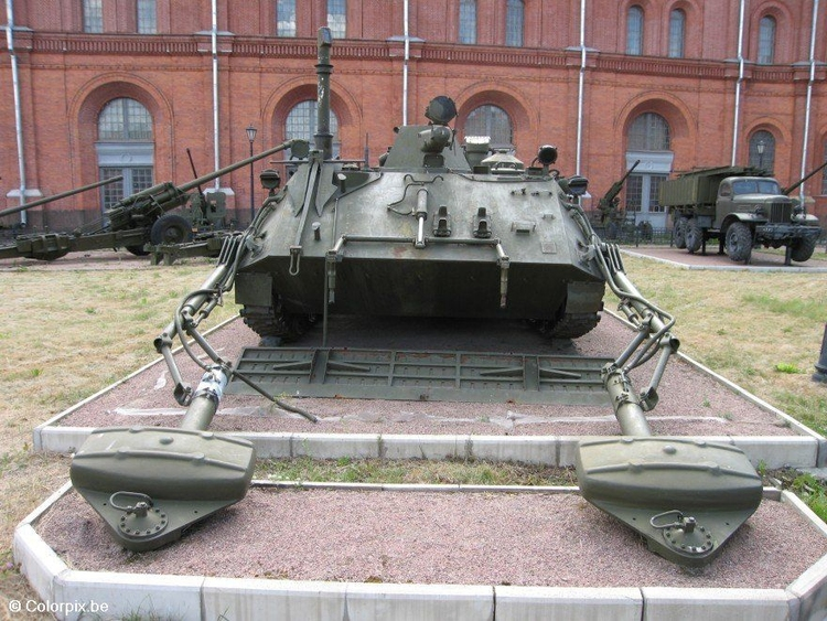 Photo Soviet tank, St. Petersburg