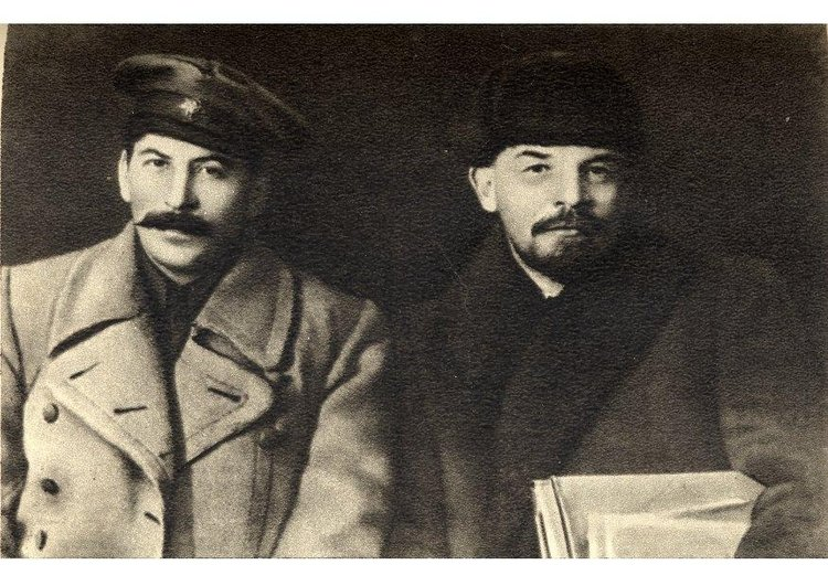 Photo Stalin and Lenin