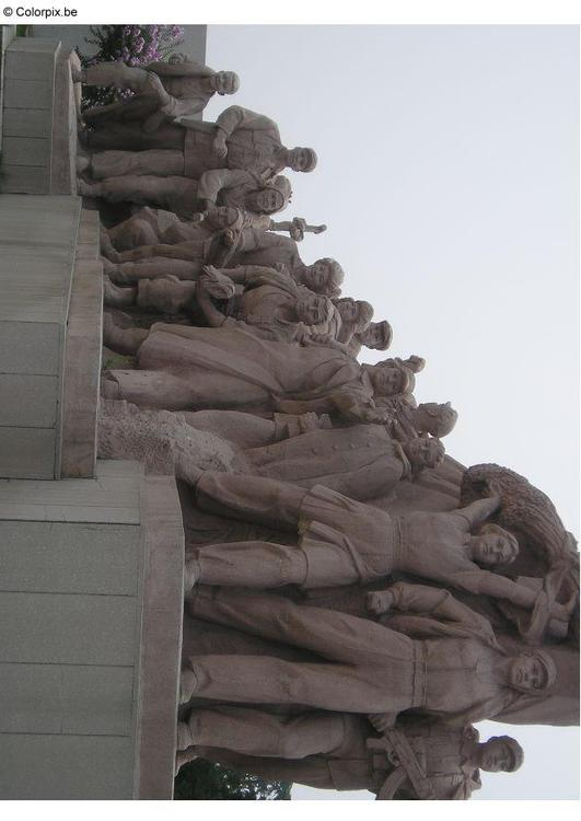 statue at Tienanmen Square