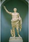 Photo statue of emporer Augustus