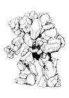 Photo Stone Elemental - man of stone