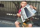 Photo street musician Istanbul