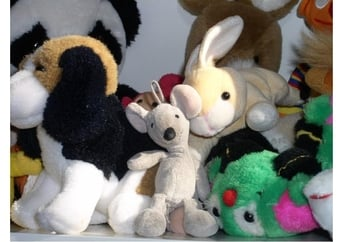 Photo stuffed animals