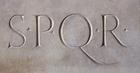 Photo tablet Senatus Populusque Romanus