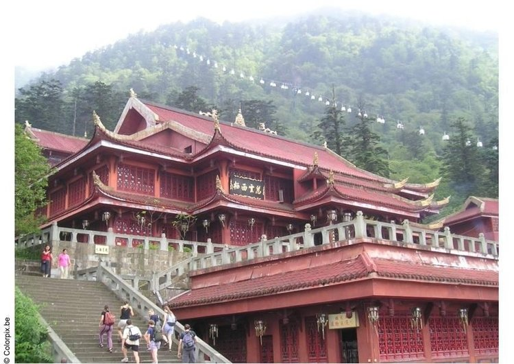 Photo Temple at Mount Emei