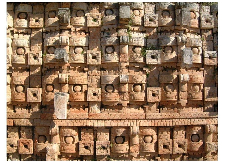 Photo Temple of Masks, Yucatan