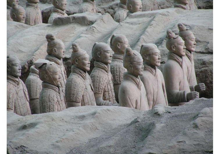 Photo terra cotta army