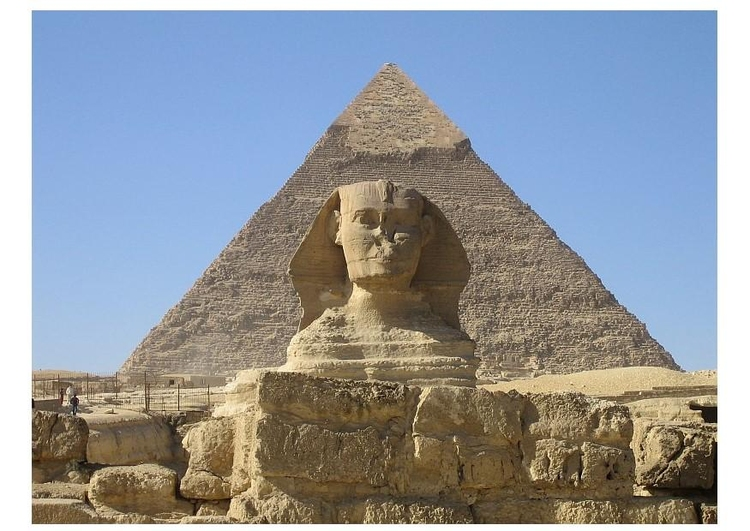 Photo The Great Pyramid of Cheops & The Sphinx