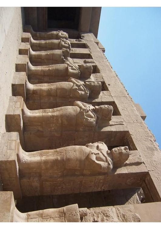 The Temple Complex of Karnak in Thebes (Modern Luxor)