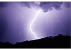 Photo thunderstorm -lightning