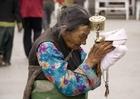 Photo Tibetan woman