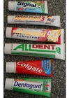 Photo toothpaste