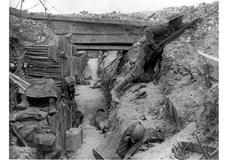 Photo trenches- Battle  of Somme