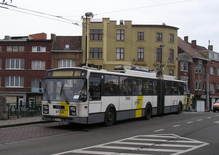 Photo trolleybus, Gent, Belgium