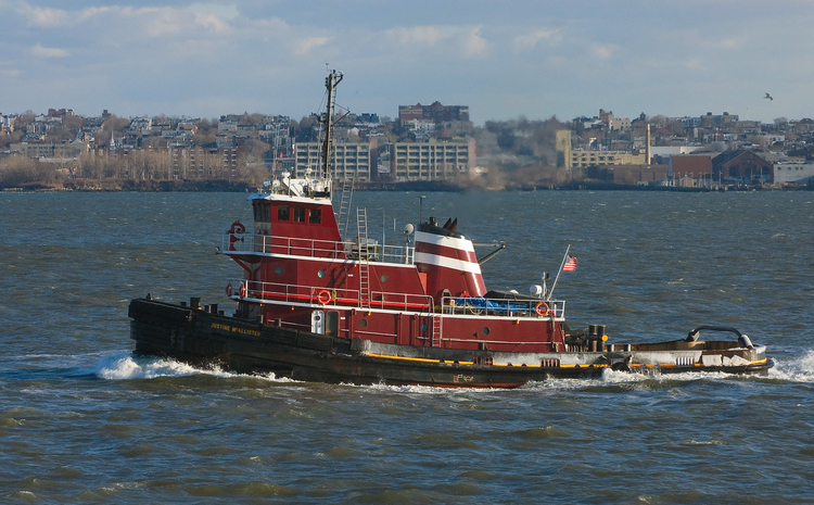 Photo Tugboat in New York harbour