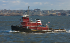 Photos Tugboat in New York harbour