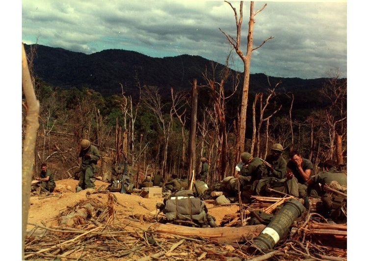 Photo Vietnam War Hill 530