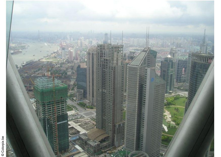 Photo view of Shanghai