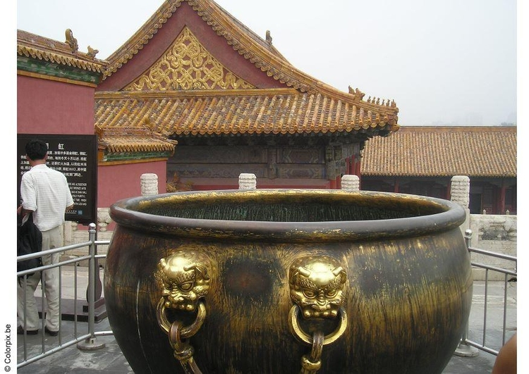 Photo water bucket, Forbidden City