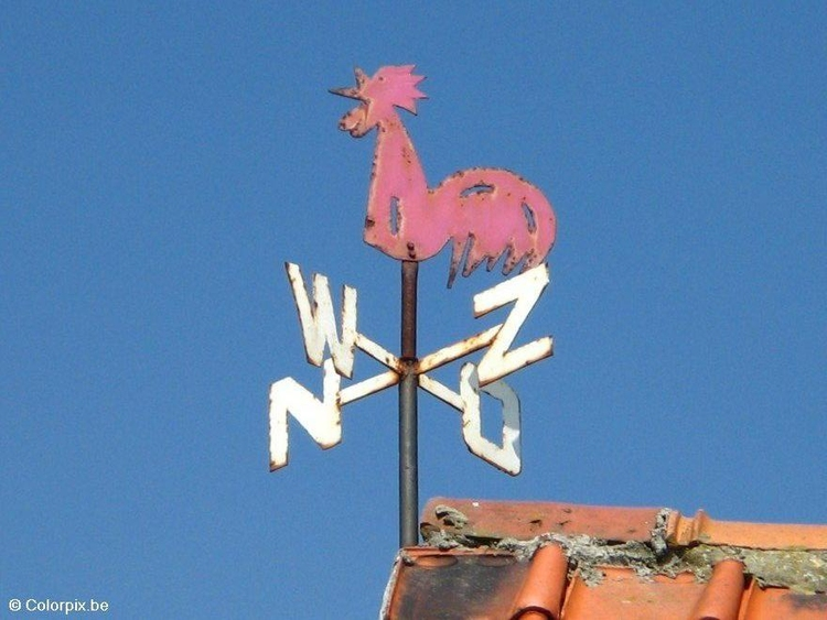 Photo weathervane