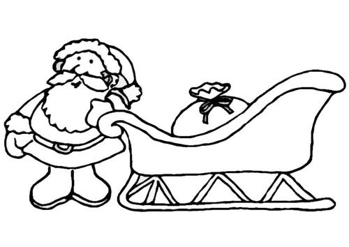 santa claus sleigh cast