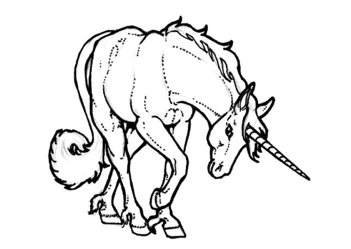 Unicorn Coloring Pages,How to Draw Unicorn Instructions,Unicorn